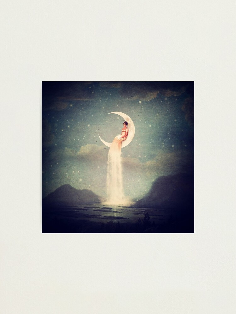 Alternate view of Moon River Lady      Photographic Print