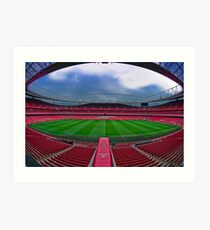 Emirates Stadium Art Print