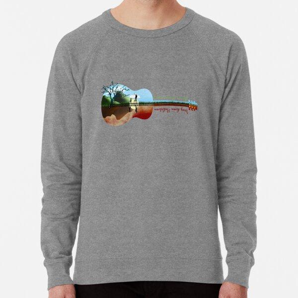 Hadestown guitar silhouette Lightweight Sweatshirt