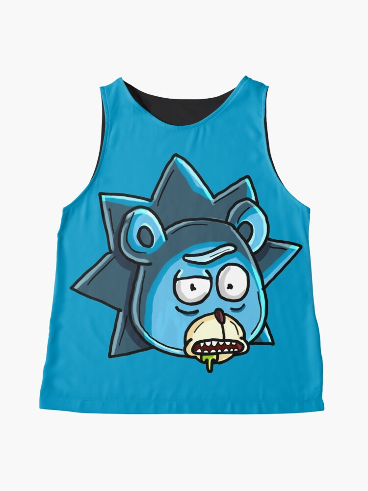 Alternate view of Teddy Rick from Rick and Morty™  Sleeveless Top