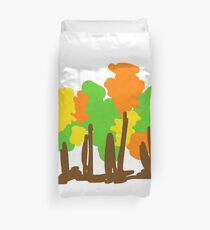 The trees Duvet Cover