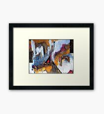 Abstract Challenge Framed Print