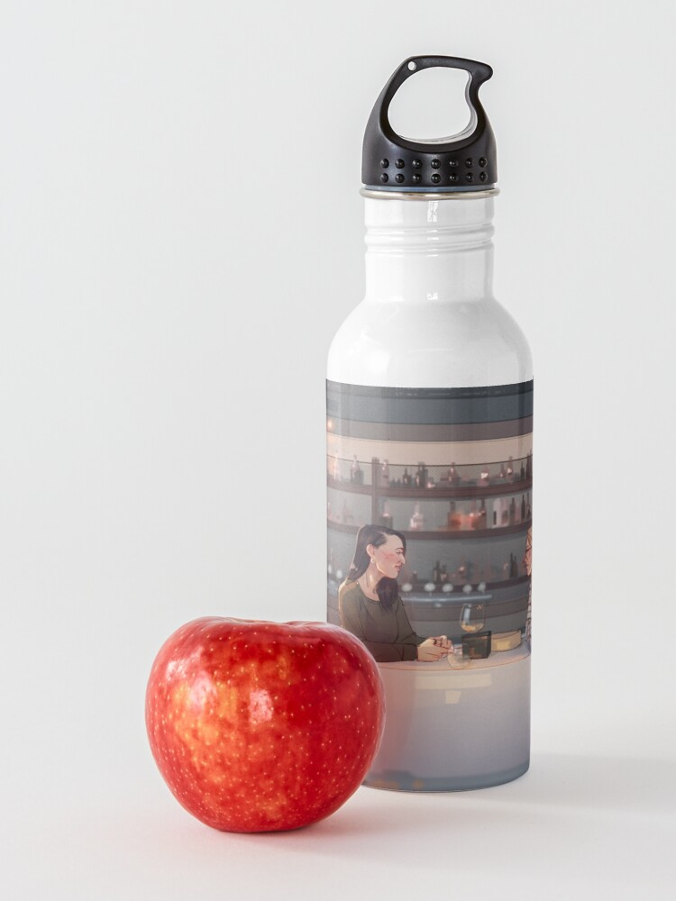 Alternate view of lunch date Water Bottle