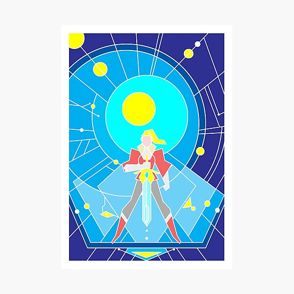 Adora's symbol (Light version) Photographic Print