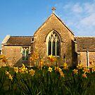 Tyneham Church by SWEEPER