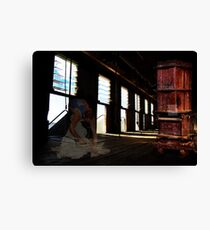 Ghost Shearer!  Canvas Print