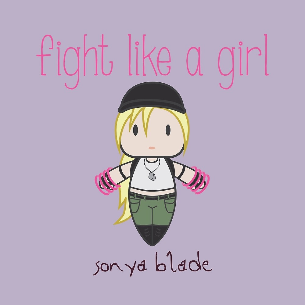 Fight Like a Girl - General by isasaldanha