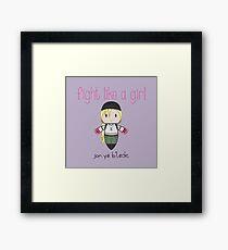 Fight Like a Girl - General Framed Print