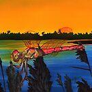 Dragonfly Sunset by Kathleen Kelly-Thompson