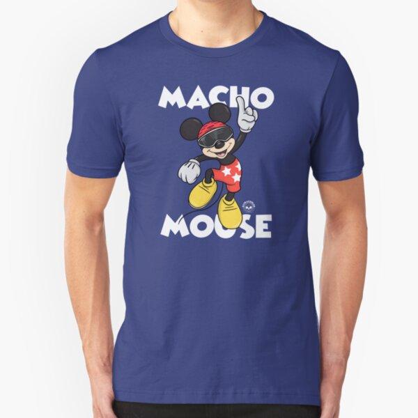Macho Mouse Slim Fit T-Shirt
