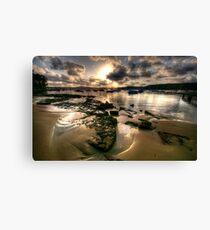 The Shallows - Paradise Beach, Sydney - The HDR Experience Canvas Print