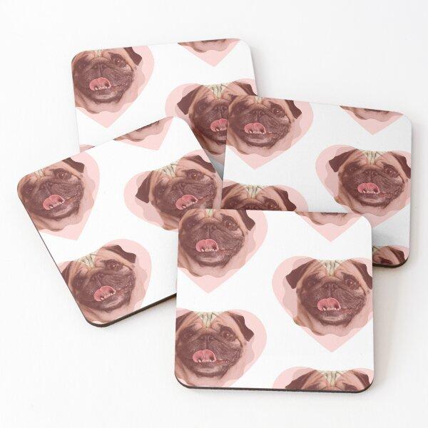 Pugs Coasters (Set of 4)