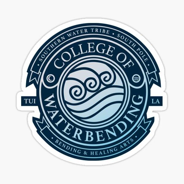 Avatar College of Waterbending, Avatar-Inspired Design Sticker