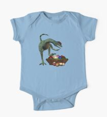 A Dino`s easter eggs One Piece - Short Sleeve