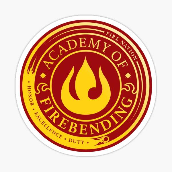Avatar Academy of Firebending, Avatar-Inspired Design Sticker