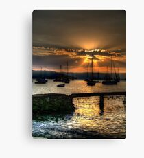 Glory - Paradise Beach, Sydney - The HDR EXperience Canvas Print