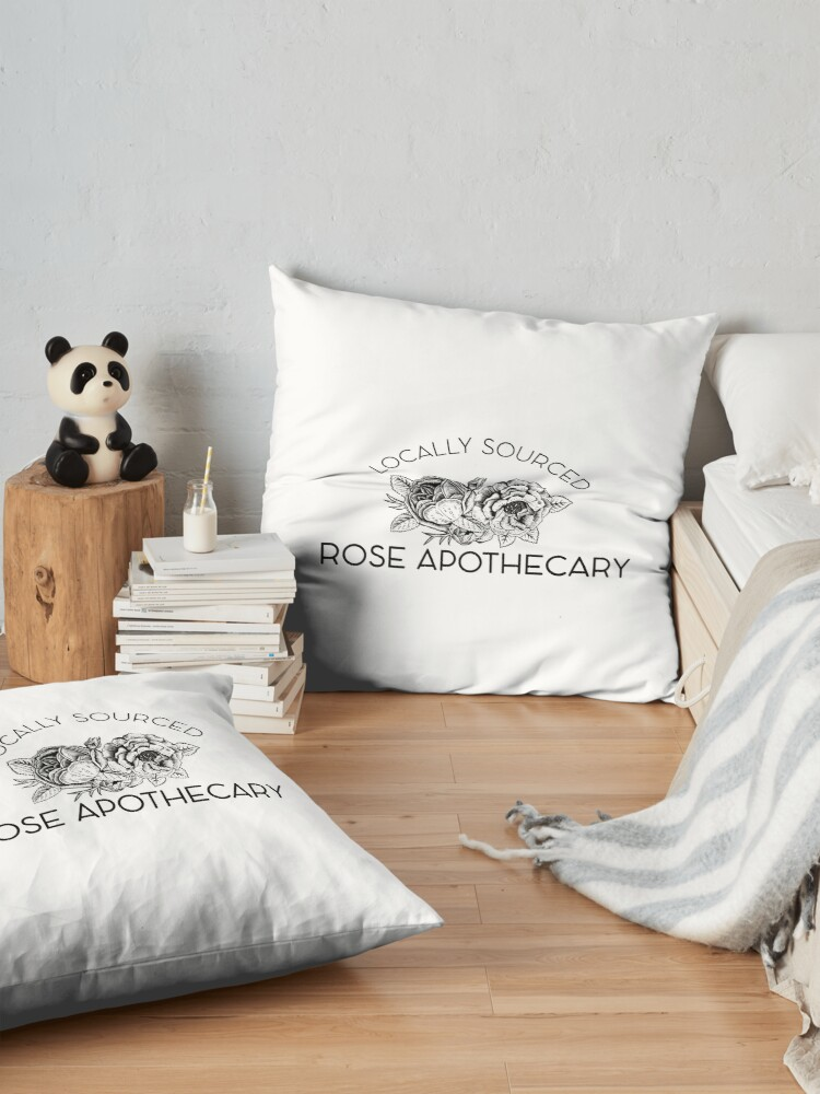 Alternate view of Rose Apothecary: locally Floor Pillow