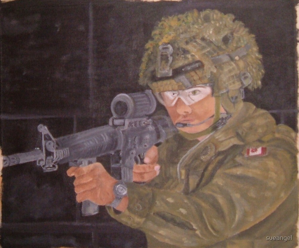 Canadian Soldier by sueangel