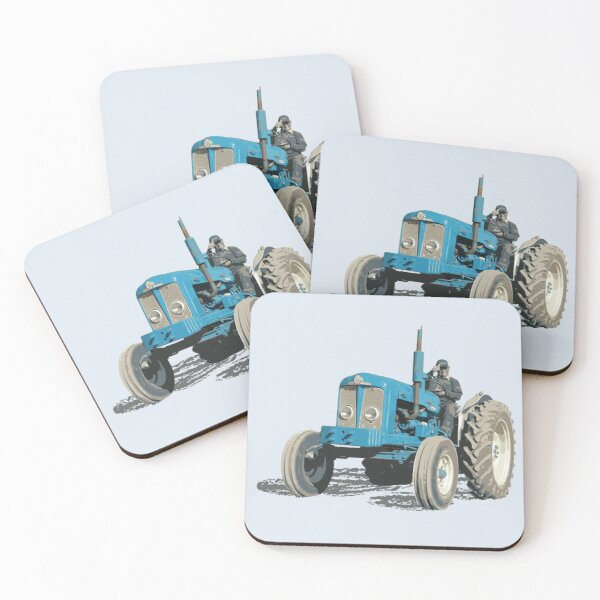 Super Major, last of the Fordson tractors Coasters (Set of 4)