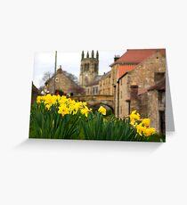Helmsley Daffodills Greeting Card