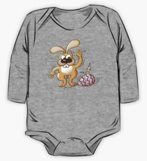 Easter Cracking Egg One Piece - Long Sleeve