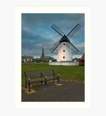 Windmill at Lytham St. Annes Art Print