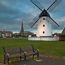 Windmill at Lytham St. Annes by Steve  Liptrot