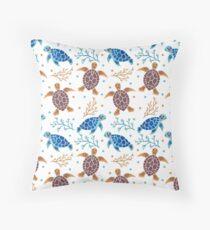 The Sea Turtle Pattern Throw Pillow
