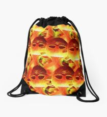 Red Hot Horgh'an Drawstring Bag