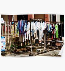 Laundry Racks Poster