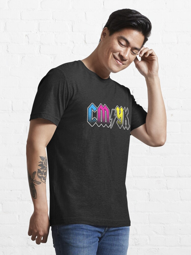 Alternate view of CMYK Essential T-Shirt