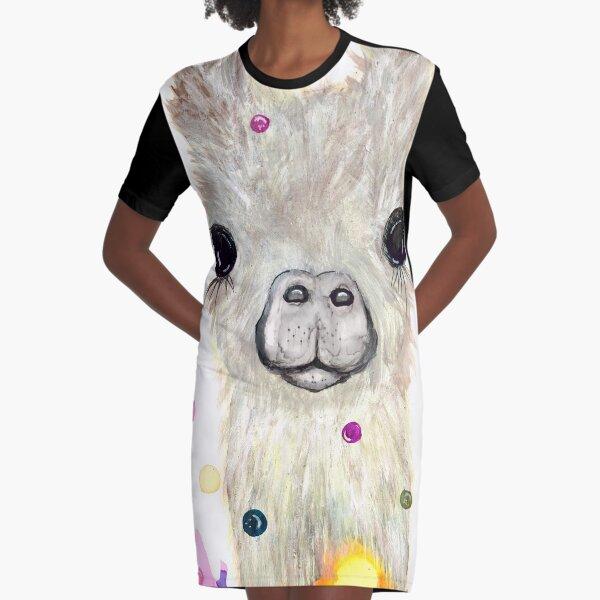 Olivia Graphic T-Shirt Dress