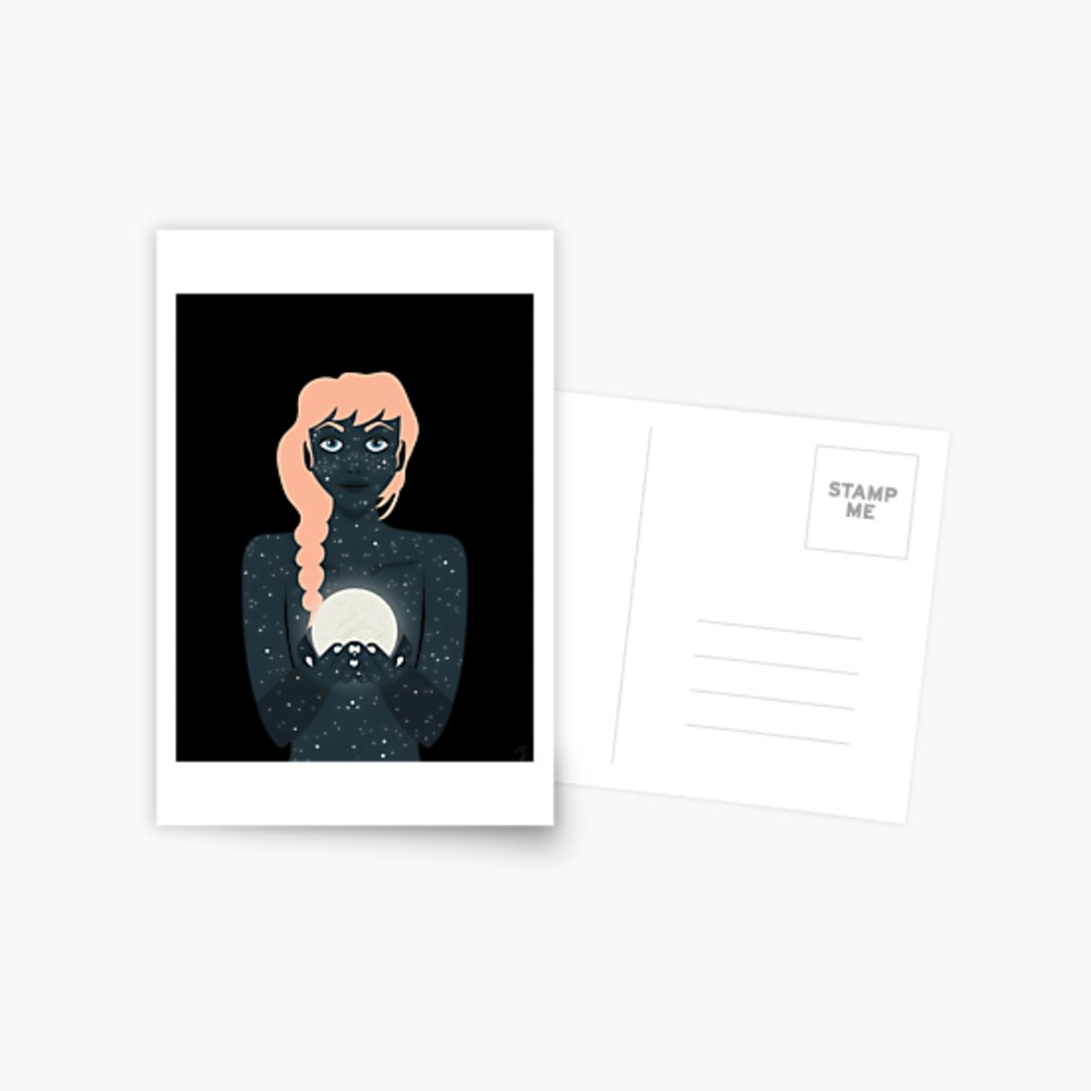 Mother of the Night Postcard