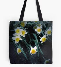 flowing dafodils Tote Bag