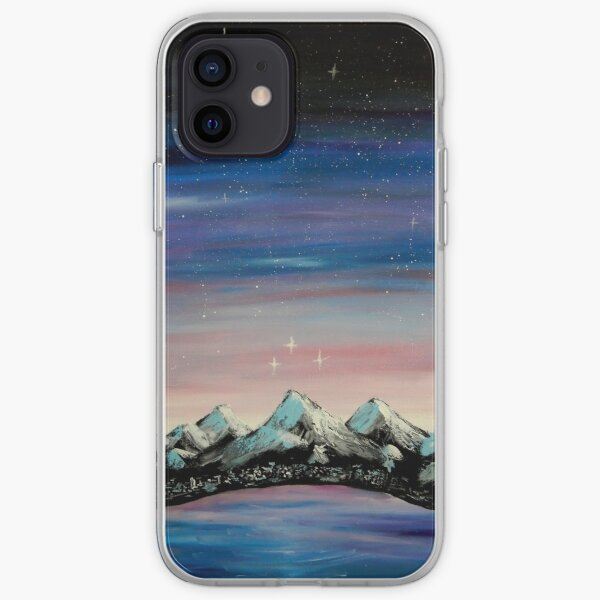 Velaris Night Court inspired painting iPhone Soft Case