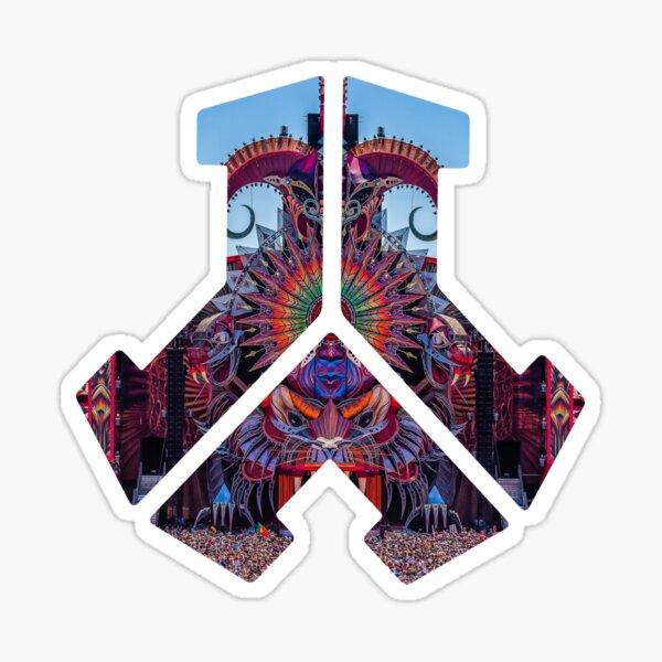 Logo Defqon.1 | Impression de la scène principale Sticker