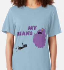 MY BEANS!! Slim Fit T-Shirt