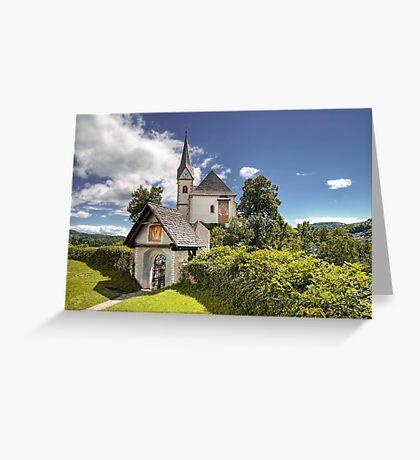 Maria Worth - Church Greeting Card