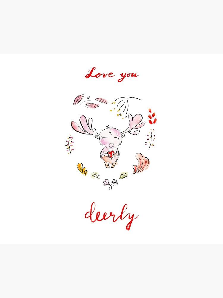 Love you deerly! by yanak