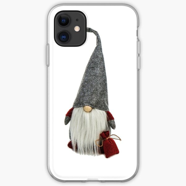Christmas Gnome Scandinavian Cute iPhone Soft Case