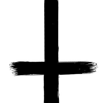 Upside Down Cross by Nodus