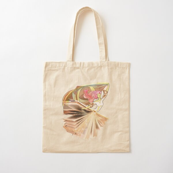 Dance me to the end of (LOVE) Book... ❤ Cotton Tote Bag