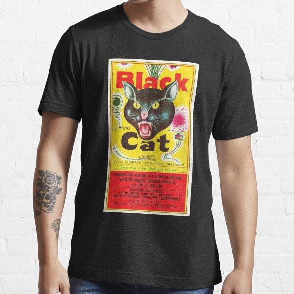 BEST SELLER - Vintage Black Cat Firecrackers! Essential T-Shirt