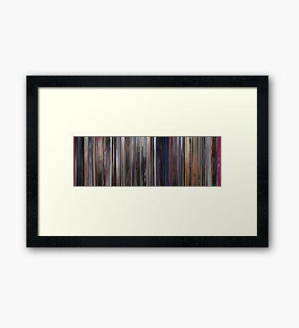 Moviebarcode: A Clockwork Orange (1971) Framed Print