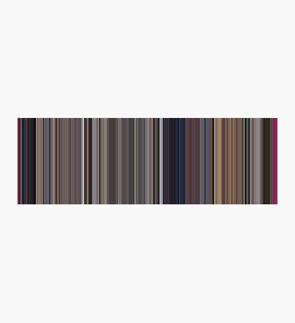 Moviebarcode: A Clockwork Orange (1971) [Simplified Colors] Photographic Print