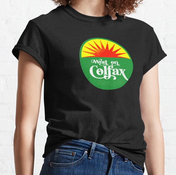 West on Colfax - truck stop sunset Classic T-Shirt