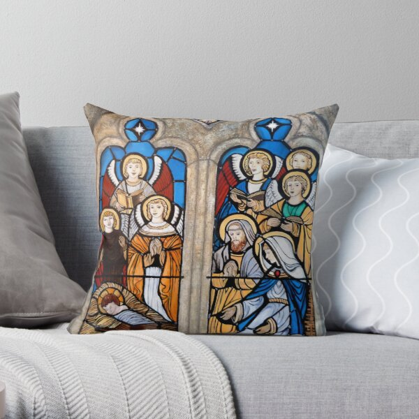 The Reason for the Season Throw Pillow