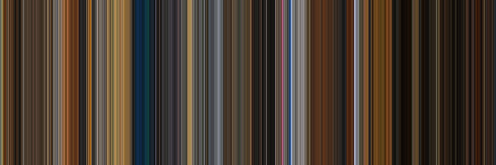 Moviebarcode: Apocalypse Now (1979) [Simplified Colors] by moviebarcode