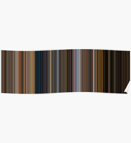 Moviebarcode: Apocalypse Now (1979) [Simplified Colors] Poster