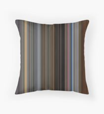 Moviebarcode: Apocalypse Now (1979) [Simplified Colors] Throw Pillow